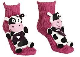 <b>cow</b> socks | Вязание, Варежки, Тапки