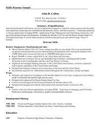 management skills for resume getessay biz management skills for resume