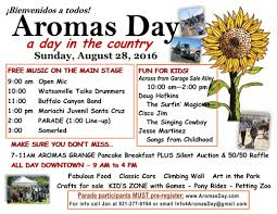 aromas day flyers aromas day aromas day 2016 flyer