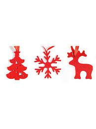 <b>Набор елочных</b> игрушек из фетра новогодний IQ Format 4627272 ...