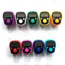 Digit <b>Digital</b> LCD Screen Electronic <b>Finger</b> Hand Ring Knitting Row ...