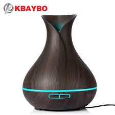 KBAYBO <b>400ml</b> Aroma Essential Oil Diffuser <b>Ultrasonic Air</b> ...