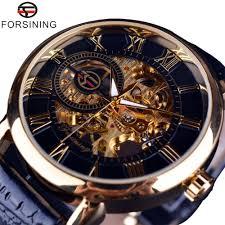 <b>Forsining Men</b> Watches Top Brand Luxury Mechanical <b>Skeleton</b> ...