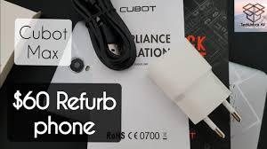<b>CUBOT</b> MAX unboxing (<b>Refurbished</b>) - YouTube