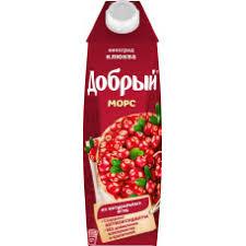 <b>Морс Добрый</b> виноград <b>клюква</b> 1л