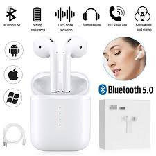 wireless bluetooth 5 0 earphone business mini in ear sports headset waterproof running earphones t0