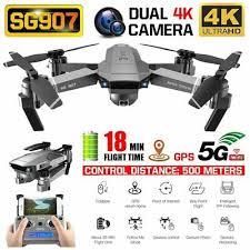 2020 <b>NEW SG907</b> Drone <b>GPS</b> 4K HD x50 ZOOM Camera 5G WIFI ...
