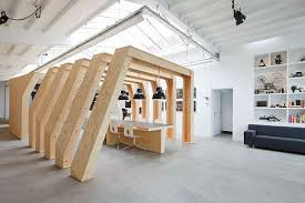 view in gallery timber ribbed cubicles amazing office space