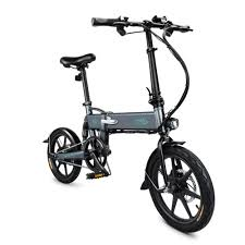 Best <b>FIIDO D2 16 Inch</b> Folding Power Assist Electric Bicycle Moped ...