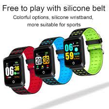 <b>LIGE 2019 New</b> Smart Bracelet Sport Fitness Tracker Blood ...