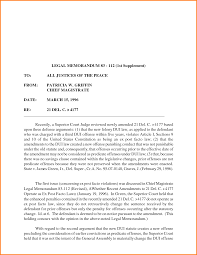 legal memorandum format letterhead template sample legal memorandum sample memo