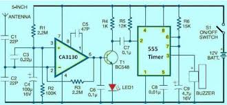 free electrical projects with circuits for engineering studentscell phone detector circuit diagram