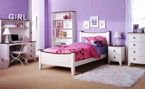 girls bedroom furniture sets purple wall decorating color concept with white furniture set with desk and childrens pink bedroom furniture
