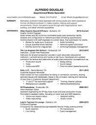 resume alfredo douglas resume