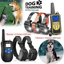 Электрошоковый ошейник для собак с дистанционным ...