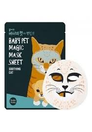 Holika Holika <b>Маска</b>-Мордочка Baby Pet Magic Mask Sheet <b>Cat</b> ...