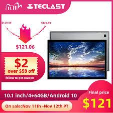 <b>Teclast P20HD</b> 4G Phone Call Tablets Octa Core <b>10.1</b> inch IPS ...