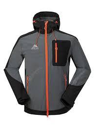 CIKRLAN Warm Windproof Splicing Outdoor Jacket Sale, Price ...