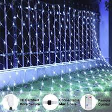 Ollny <b>Led Net Mesh</b> Fairy String Decorative <b>Lights</b> 200 LEDs 3m*2m ...