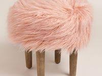 22 Best Fur <b>stools</b> images | Fur <b>stool</b>, <b>Faux fur stool</b>, <b>Stool</b>