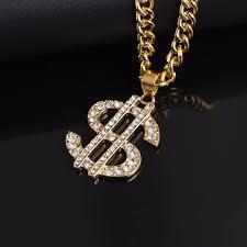Shellhard <b>Hip Hop</b> Jewelry <b>US Dollar</b> Money Pendant Necklaces ...
