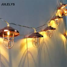 <b>JULELYS 3M</b> 20 Bulbs 220V Battery LED String Lights Retro ...
