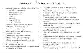 research topics baerwald research llc examples of requests