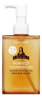 <b>Масло гидрофильное Real Art</b> Perfect Cleansing Oil 185мл Etude ...