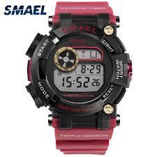 <b>SMAEL Digital Wristwatches Luxury</b> Brand Army Watches ...