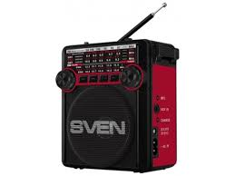 Купить <b>радиоприемник SVEN SRP-355</b>, красный по цене от 1050 ...