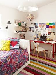 l two tone stripes wall paint ideas teenage girl bedroom ideas for small rooms cheerful girls bedding set double pink floral pillows white loft bed purple cheerful home teen bedroom