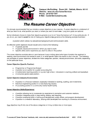 example of resume objectives example resume objectives resume sample resume format career objective resume example