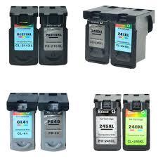 PG245XL CL246XL 240XL 241XL 210XL 211XL <b>PG40 CL41 Ink</b> for ...