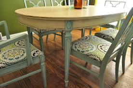 Custom Wood Dining Room Tables Items Similar To Sold Custom Painted Dining Room Table An Chairs