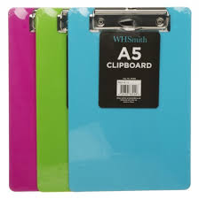 clipboards in files and folders stationery whsmith a5 clipboard clip boards