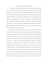 the rocking horse winner essay rocking horse winner theme essay