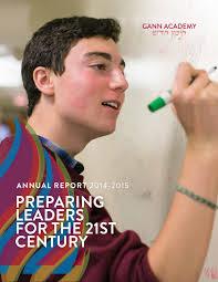gann academy 2014 2015 annual report by gannacademy1997 issuu