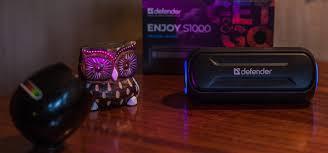 Обзор <b>Defender Enjoy</b> S1000 – маленькая портативная акустика