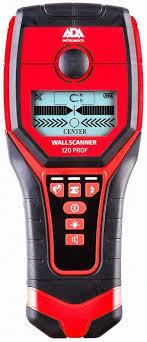 Купить <b>Детектор проводки ADA Wall</b> Scanner 120 PROF в ...
