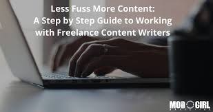 less fuss more content a step by step guide to working less fuss more content a step by step guide to working lance content writers mod girl marketing