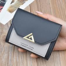 <b>Korea Fashion</b> Wallet Girl <b>Women</b> Purse Tri -<b>fold</b> 11.5*9*2cm Small ...