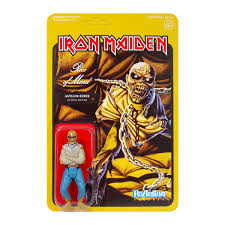 <b>Iron Maiden</b> ReAction Figure - <b>Piece</b> of Mind (Album Art) – Super7