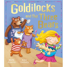 Resultado de imagen para goldilocks and the three bears