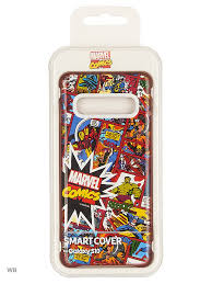 Чехол (<b>клип</b>-<b>кейс</b>) для <b>Samsung Galaxy S10</b> Marvel Case Mcomics ...