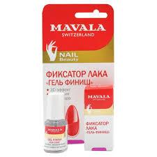 Mavala Gel Finish Top Coat <b>Фиксатор лака</b> с гелевым эффектом ...