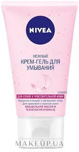 <b>Крем</b>-гель для <b>умывания нежный</b> для сухой и чувствительной кожи