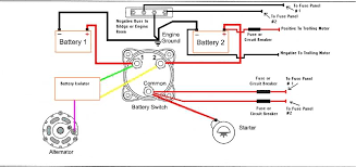 boat wiring diagram dual batteries wirdig wiring everything page 1 iboats boating forums 186048