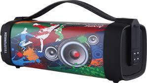 <b>Портативная акустика Telefunken TF-PS1241B</b>(<b>print</b> Music holiday ...
