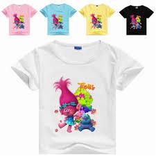 2019 DHL Kids Summer <b>T</b> Shirt <b>Trolls Boy</b> Shirt New Movie <b>T</b> Shirts ...