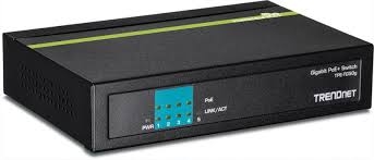 <b>TRENDnet TPE-TG50G</b> 5-Port Gigabit PoE+ Network Switch ...